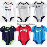 Wholesale Baby One Piece Romper Children Clothes Kids Romper Infant Wear Kid Boy Girl Jumpsuit Rompers One Piece Clothing Newborn Romper Baby Rompers