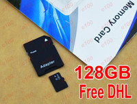 TF / Micro SD Card 128GB 200pcs 128GB Micro SD Card Class 10 Wholesale 128 gb Micro SD SDHC TF Memory Card OEM ODM free adapter for Samsung huawei ZTE Smartphones 200pcs