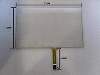 Wholesale 10 inch touch screen wire resistive touch screen material x145mm sensitivity