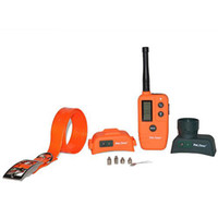 Wholesale Electronic Training Tool Waterproof Orange Remote Training and Beeper Collar S PET910