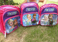 Wholesale DHL fast shipping new FROZEN children school bags baby girls schoolbag Children Backpack schoolbag cartoon backpack kids bags