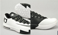 Low Cut kevin durant shoes - Sale basketball shoes black amp white kevin durant shoes high quality men athletic shoes size US7 US12
