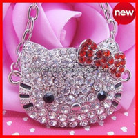 bag paypal - Hello Kitty Necklace colors pc Paypal accept Free Jewelry Gift Bag