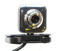 Wholesale Black Micro Folding HD USB Digital Web Camera Webcam with Microphone for Notebook LCD Computer for Live Chat Video