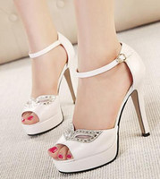 ankle strappy sandals - Diamond Mask sexy white rhinestone sandals wedding shoes summer dress sandals stiletto heel ankle strappy prom shoes size to