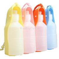 оптовых хот-дог воды-Новый Горячие Продаем Портативный бутылочка для кормления домашних собак воды Открытый Путешествия K5BO