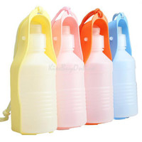 vakind 65 g 2350 Wholesale - Brand New Hot Sell Portable Feeding Bottle Pet Dog Water Outdoor Travelling K5BO