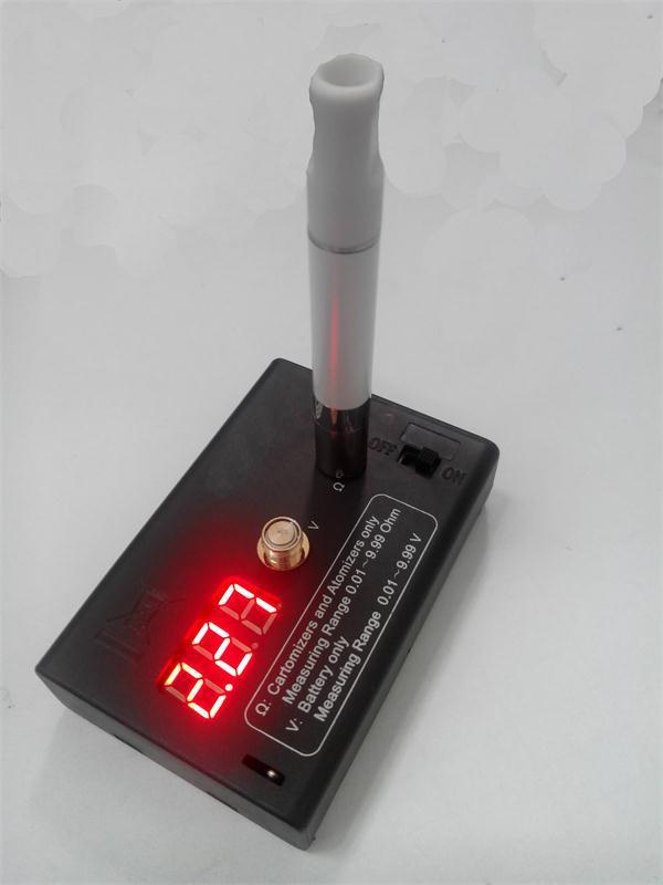 Ohmmeter To Measure Ohms : Digital ohmmeter voltmeter ohm reader vaporizer atomizer