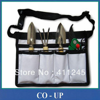 Wholesale pieces bag Portable Gardon Tool Set Shovel Rake Shear Portable Bag Garden Cutters