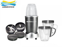 Traditional / Work Top 220V Under 10 litres AU EU US UK plugs-NutriBullet NutriBullet Kitchen Appliance 8pieces 600W Blender Mixer Extractor Blender Juicer Nutri Bullet 110v or 220v
