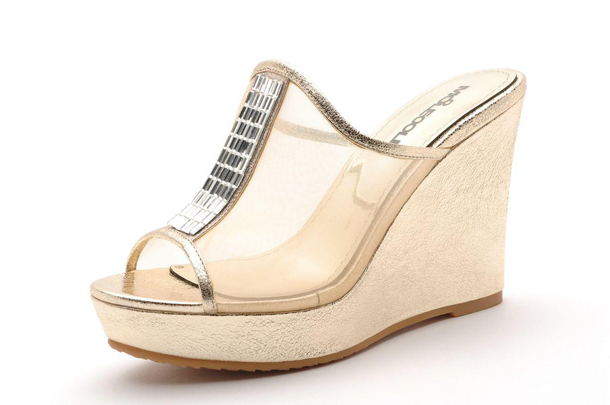 Clear Chunky Heel Shoes
