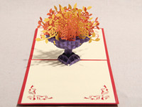 Wholesale Cornucopia d CARDS stereo manual creative wildly popular birthday card business card card
