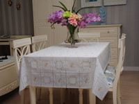 Wholesale Fashion Plaid table cloth Waterproof table cloth pvc Tea table cloth square tablecloth
