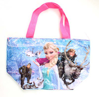 Totes cheap beach bag - Cheap Designer women frozen anna elsa Handbags messenger bags summer beach Clutch Bag carteira Totes alot