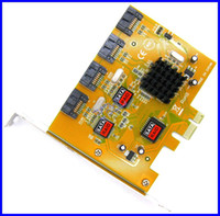 Wholesale 4 Port SATA RAID to PCI E PCI Express Card Adapter Converter Bootable