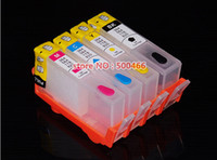 Four(BK/C/M/Y) BK=30ML,C/M/Y=15ML HP Lifei refill ink cartridge with reset chip for HP Deskjet Ink Advantage 3525 4615 4625 5525