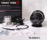 Intake & Exhaust Valve adjustable valve box - Tansky Adjustable BOV Blow off value SQV2 BOV black Original color box and Logo TK SQV2 have in stock