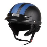 helmet - Motorcycle Motorbike Open Face Helmet Visor Goggles Scarf