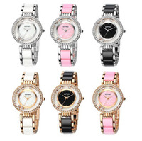 Wholesale Eyki watch Kimio Brand Watches Women Fashion ladies crystal clock fashion watch black luxury women rhinestone watches