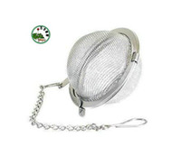 Wholesale Stainless Steel Locking Spice Mesh Ball Tea Strainer Tea Infuser