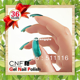 Wholesale Best high quality raw material CNF Soak Off UV Nail Polish Gel gel polish base coat top coat