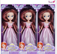 Wholesale The new toy barbie big eyed dolls Princess Sophia snow country