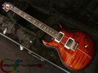 Wholesale Black Cherry SANTANA Custom Shop Electric Guitar From China High Quality guitar