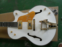 Hollow Body white falcon - Custom Shop White Falcon Electric Guitar New Arrival From China High Jazz Guitars
