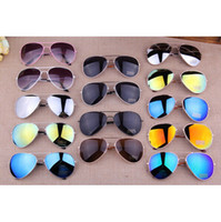 Wholesale New Fashion Vintage Coating Sunglasses Brand Designer Men Women Aviator Sun Glasses Oculos De Sol Gafas
