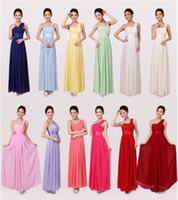 Wholesale BL cheap chiffon dress Evening Prom Party Long Dress Bridesmaid and formal Dress