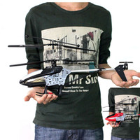 other other other Wholesale-New 2.4GHz 4CH R C Remote Control RC 45CM LED Gyro Big Helicopter Gifts