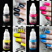 Wholesale OPHIR Airbrush Nail Ink for Nail Stencil Art Polishing ML Bottle Temporary Tattoo Pigment _TA098