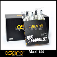 Replaceable electronic products - Hot Selling Authentic Ml Aspire Maxi BDC Tank Aspire Atomizer ohm Plastic Clear Atomizer Best Electronic Cigarette Newest Product