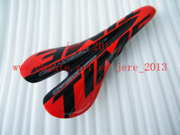 Wholesale NEW paragraph Red time saddle carbon fiber light weight saddle