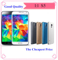 Wholesale S5 SV GT I9600 inch MTK6572 Dual Core lte g Android4 Quad Band Health Care WCDMA Camera WiFi G Unlocked Smart Mobile Cell Phone