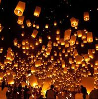 flying chinese lanterns - DHL free Flying Lantern KONGMING lantern PRAYING LANTERN SKY CHINESE LANTERNS Festival Days lights