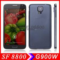 Wholesale Android смартфон сотовый телефон дюймовый IPS экран HD HTM H9500 MTK6589 S4 четырехъядерных процессоров Гб оперативной памяти Гб ROM MP камера Android G GPS