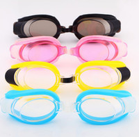 Wholesale Goggles Swim Shop With Earplugs Swimming Goggles Kids Cartoon Anti fog UVstop Watch for Swimmin HW0261