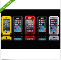 Hybrid Aluminum Gorilla Glass for iPhone 5 Water Resistant E...
