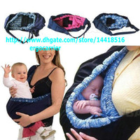 Back Carry baby papoose - 100 A QUALITY Infant newborn Baby carrier Sling wrap swaddling kids Nursing Papoose bag Pouch Horizontal carry way colors