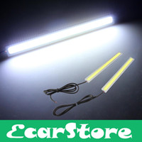 Led Stripes T10 2450-2652-2825-2921 2 PCS 5W COB White LED Daytime Running Lamp Light DRL Fog Car Truck Driving