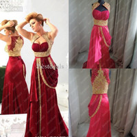 New Sexy Sweetheart Chiffon Burgundy Prom Dresses Runway 201...