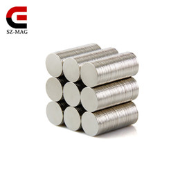 Free shipping 100pcs Strong Round Magnets Dia.9x0.6mm N50 Rare Earth Neodymium Disc Magnet Picture Wall