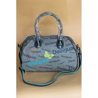 Wholesale In Spain the new printing LOGO Desigual2014 shell bag diagonal package handbag