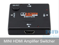Wholesale HDMI Switch to P HDMI switcher Splitter Box Audio Switch for DVD PC PS3 Projector