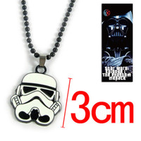 star wars - 10pcs Star Wars Stormtrooper Pendant Necklace Metal Cosplay Necklace