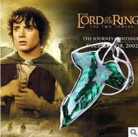 Wholesale Lord Of The Rings Elven Necklace Brooch Fellowship Foluoduo Wizard Leaves D Brooch B14