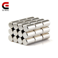 Wholesale Strong Round Dia x10mm N50 Rare Earth Neodymium Magnet Disc Picture Wall in stock