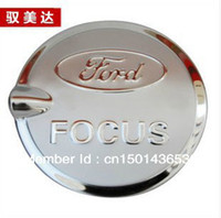 ford caps - Ford Focus Stainless Steel Fuel Cap Tank Cover dr and DR