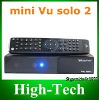 Receivers DVB-S vu solo China post free Hot sell vu solo 2 mini 2 x DVB-S2 tuners VU SOLO2 MINI , mini vu solo2 Linux Operating System VU+ SOLO2 mini